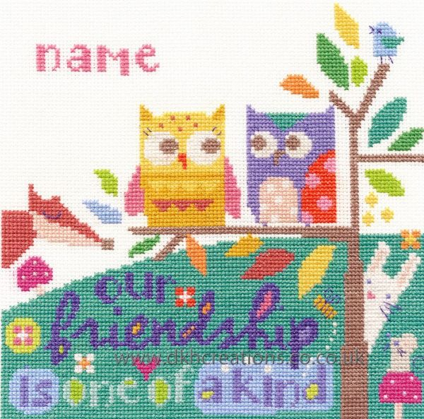Friendship Cross Stitch Kit